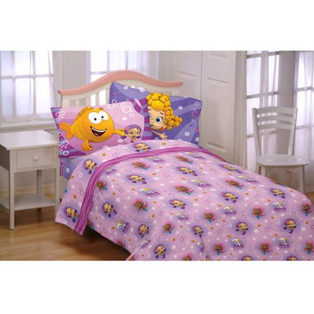 Bubble Guppies Fun Cotton And Polyester Bedding Sheet Set
