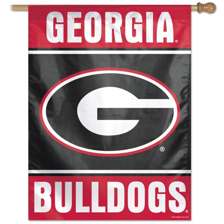 Georgia Bulldogs Banner (Georgia Bulldogs Official NCAA 27 inch  x 37 inch  Veritcal Banner Flag by Wincraft)