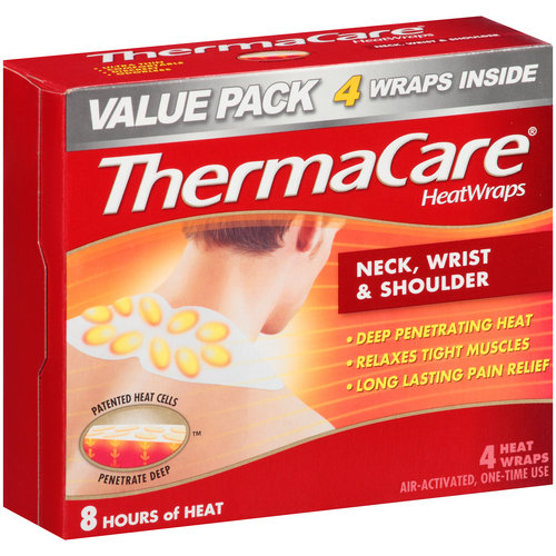 Sport Muscle Heat Therapy Wraps from Thermacare provides up to 8 hours worth of relief. Warnings: Do not use on the face/head, breasts, fingers, groin, feet or toes. On the back of the knee or inside the bend of the arm or underarm. If heat cell contents leak coolninjagames.ga wrap is damages or torn. For more than 8 hours in a hour period.