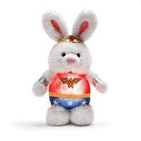 "GUND DC Comics Wonder Woman Nightlight Stuffed Animal Bunny Plush, 8"""