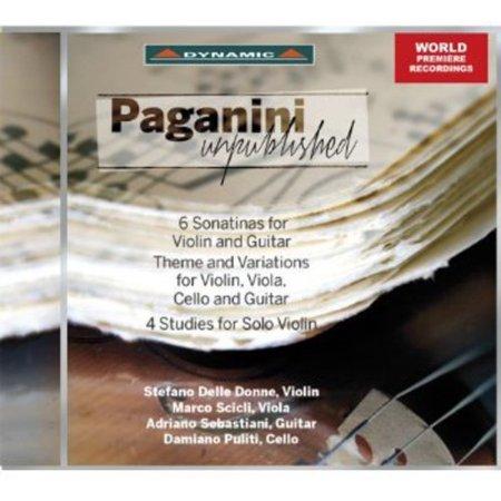 N  Paganini   Paganini Unpublished  Cd