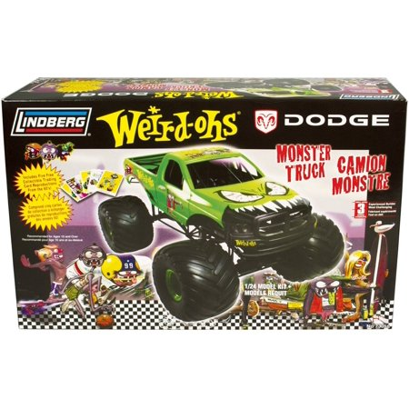 Weird-Ohs Monster Truck Wade A Minute, High detail plastic model kit of dodge monster truck By LINDBERG from USA (Dodge Model Kits Trucks)