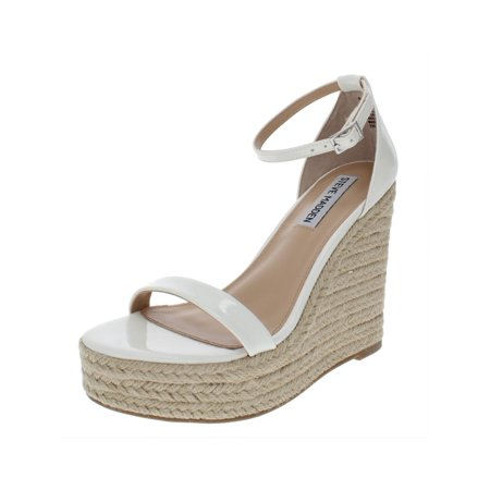 Steve Madden Womens Survive Padded Insole Espadrille Wedges
