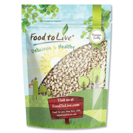 Food To Live ® Pine Nuts (2 Pounds)