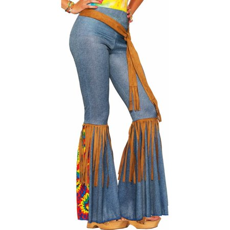 Womens Hippie Pants with Belt Halloween Costume for $<!---->