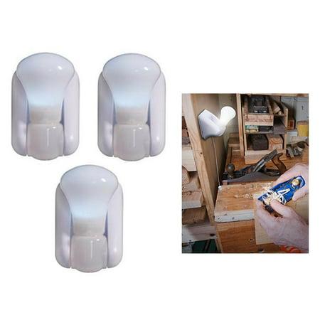3 Bright Light LED Stick Up Pull Chain Battery Powered Bulb Portable Mount Lamp](Light Sticks Bulk)