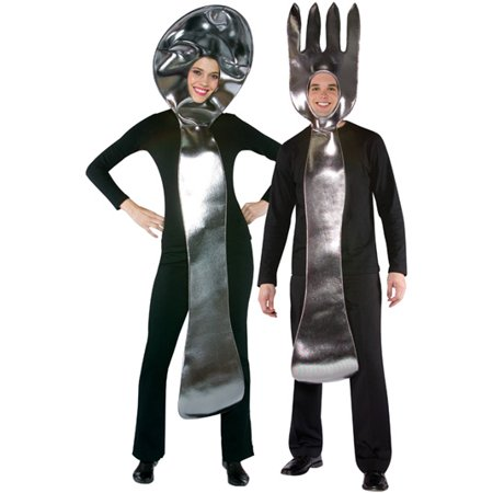 Fork and Spoon Costume - Spoon Costume