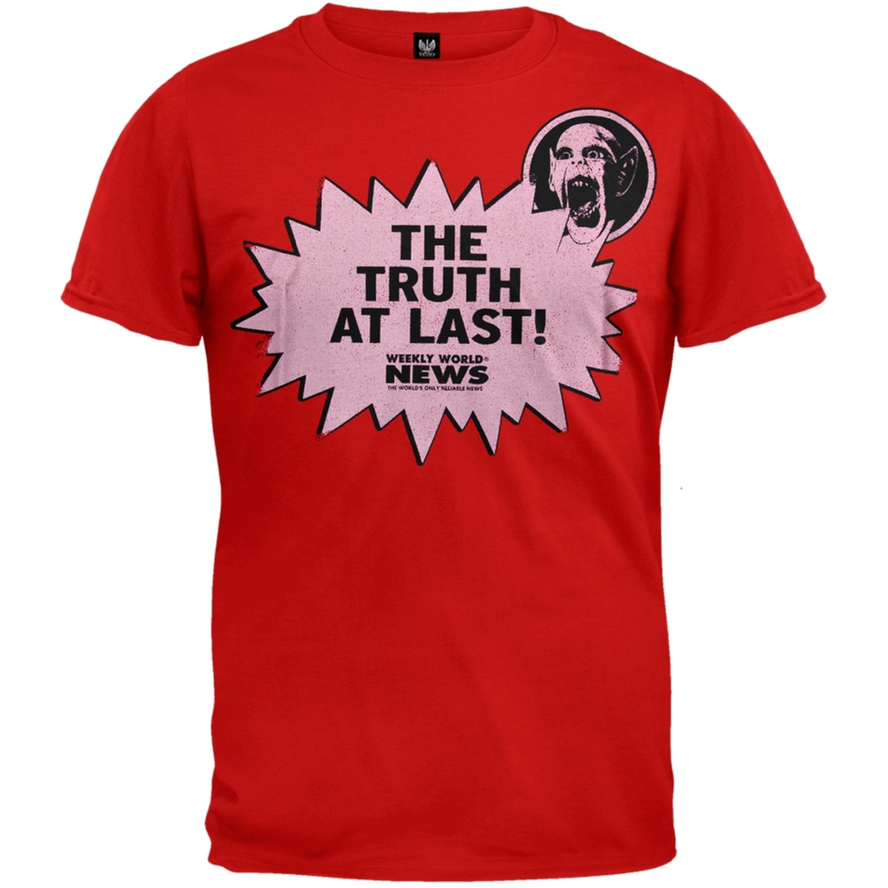 Weekly World News - Truth At Last Soft T-Shirt