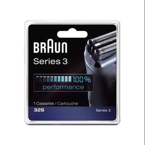Braun 32S Series 3 Replacement Foil and Cutter Head Cassette 32B
