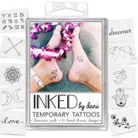 INKED by Dani Dreamers Temporary Tattoo Pack