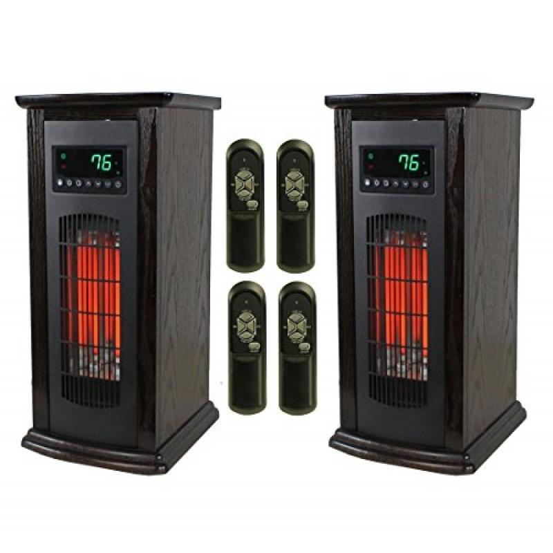 Lifesmart LifePro 3 Element Electric Infrared Quartz Towe...
