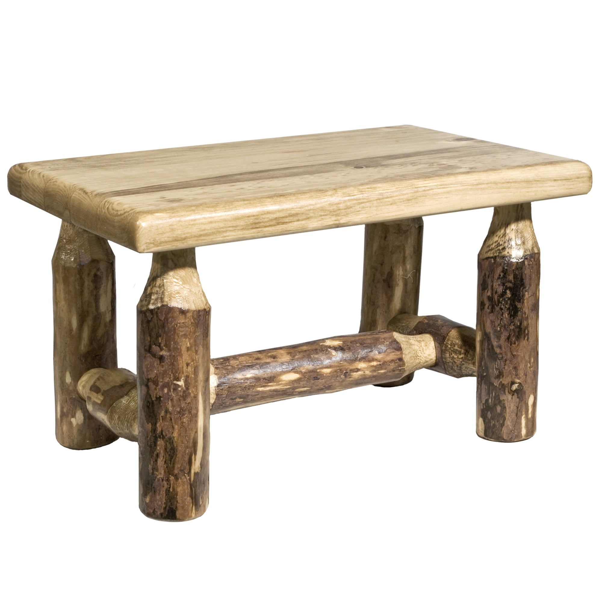 Glacier Country Collection Footstool by Montana Woodworks Inc