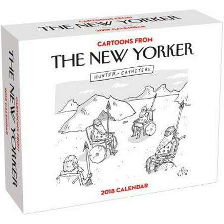 Cartoons From The New Yorker 2018 Calendar