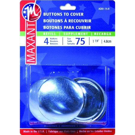 Cover Button Refill-Size 75 1-7/8