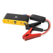 TechOrbits Compact Car Jump Starter and Portable Charger Power Bank with 400A Peak Current, Advanced Safety Protection and Built-In LED Flashlight - Lifetime Warranty