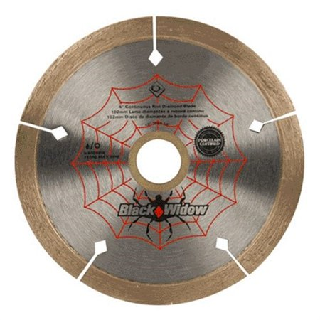 QEP 6-4008BW Tile Saw Blade, Wet/Dry,4 In Dia