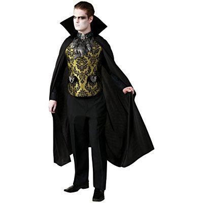 rubie's costume co men's elegant vampire costume, multi, standard