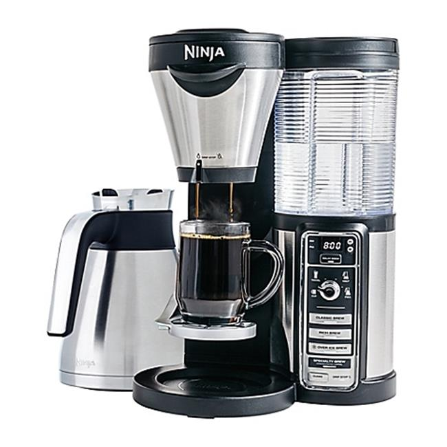 EMG CFO86 Euro Pro Ninja Coffee Bar Brewer Stainless Steel Thermal Carafe