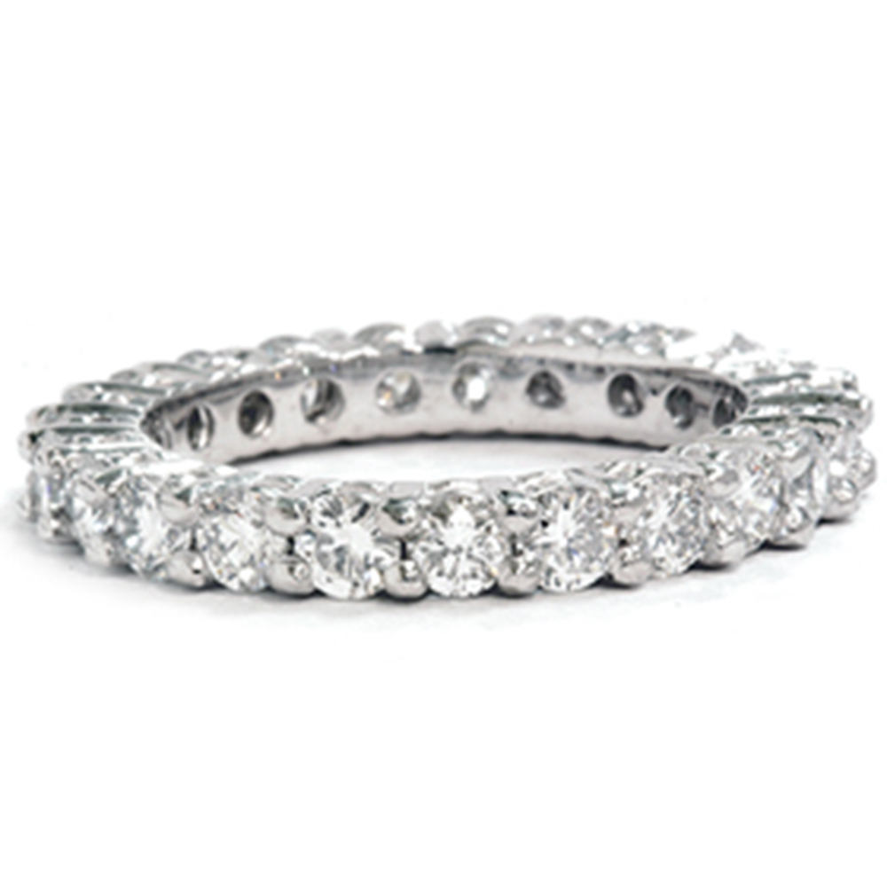 2 3 8ct Diamond Eternity Ring 950 Platinum by Pompeii3