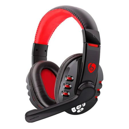 axGear Bluetooth Wireless Headset Gaming Cordless Headphone w/ Microphone V8 - image 7 de 7