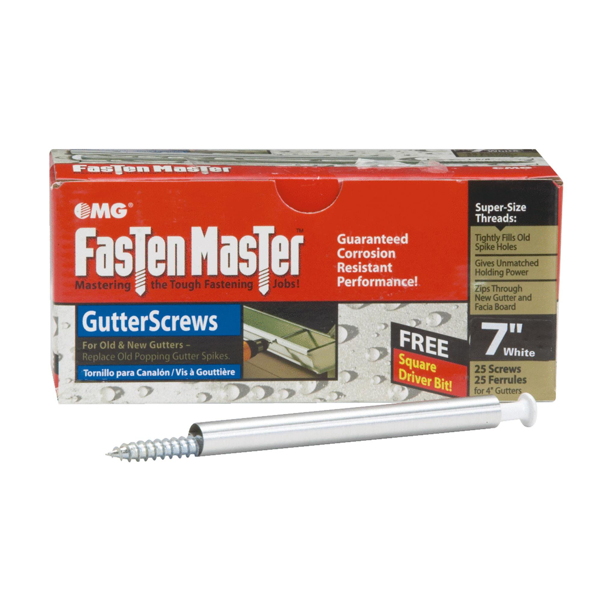 Fasten Master Gutter Screw