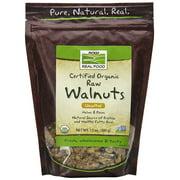 NOW Foods Organic Walnuts Raw 12 Ounce