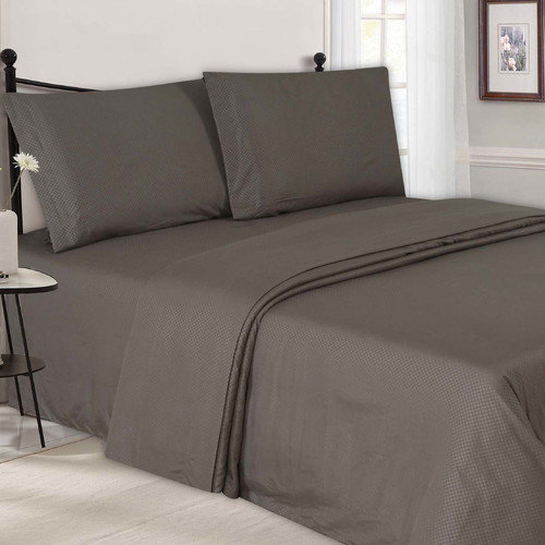 Simple Elegance New York Embossed Sheet Set