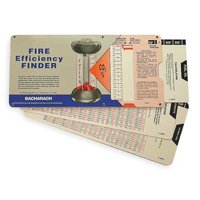 BACHARACH 10-5064 Fire Efficency Finder