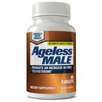 Ageless Male Free Testosterone Booster with Testofen, Capsules, 60 Ct