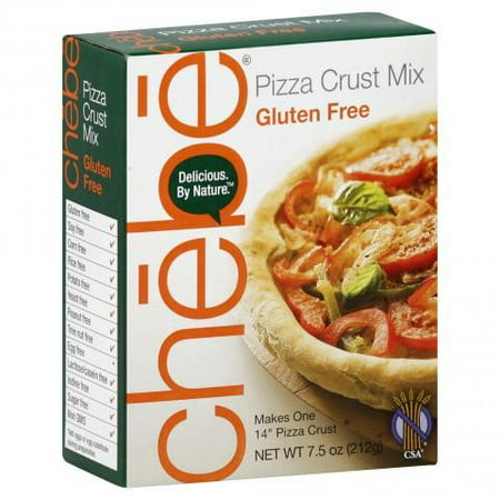 Chebe Bread Pizza Crust Mix, Gluten Free, 7.5 Ounce Box