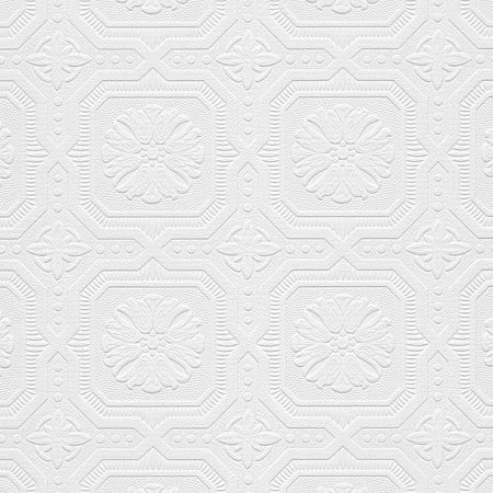 Tin Tile Wallpaper - Tin Tiles Paintable Wallpaper