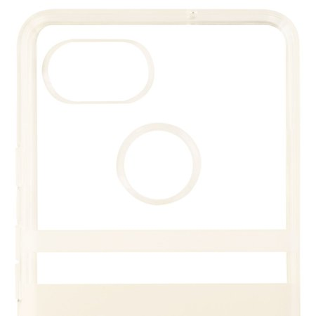 low priced fae56 38504 Kate Spade Flexible Hardshell Case Cover For Pixel 2 XL White Clear ...