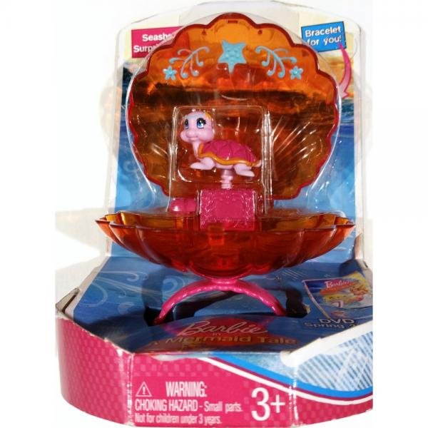 Barbie in a Mermaid Tale Seashell Surprise - Orange Turtle