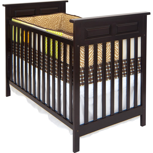Child Craft - Logan 2-in-1 Convertible Fixed-Side Crib, Jamocha