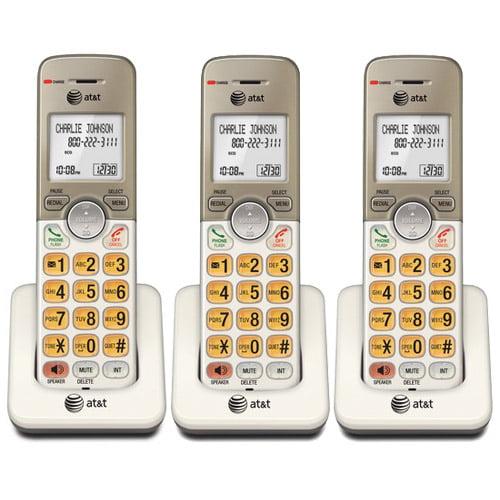 ATT EL50013 3-Pack Cordless Extension Handset