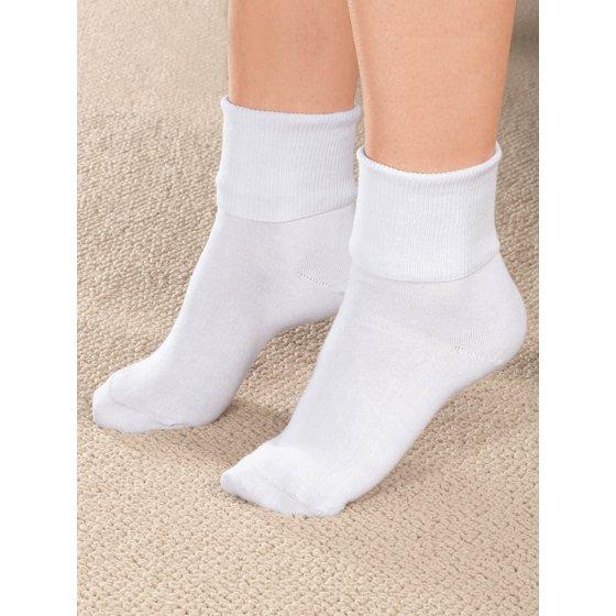 df0030030 Prime Life Fibers - Buster Brown Women s 100% Cotton Socks - 3 Pair ...