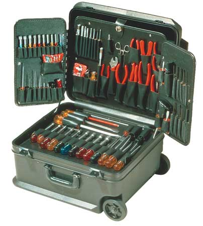 General Hand Tool Kit, Xcelite, TCMB100STW