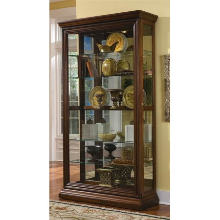 Curio Cabinet W Adjule Shelves