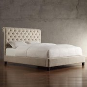 Signal Hills Knightsbridge Rolled Top Tufted Csterfield Queen Bed by