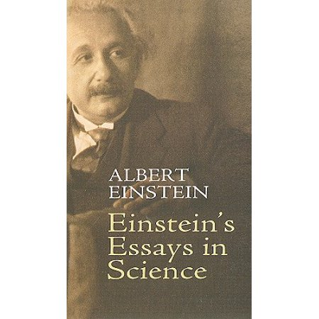 einsteins essays in science  walmartcom