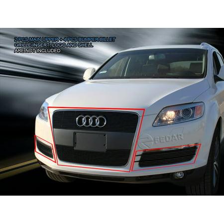 Fedar Billet Grille Combo For 2007-2012 Audi