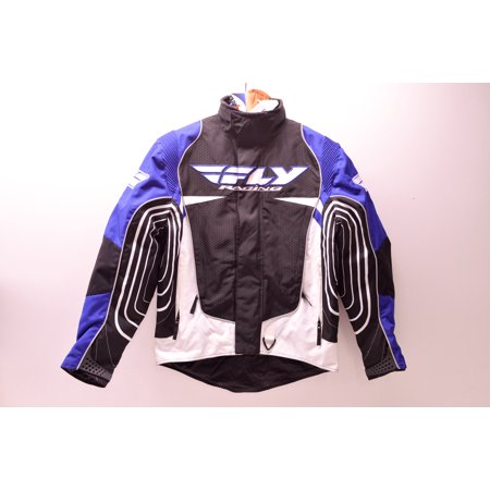 Fly Racing 470-2151S Snowcross Jacket Blue/White/Black S Small QTY 1