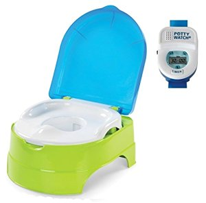 Summer Infant My Fun Potty and Stepstool with Potty Watch Training Aid