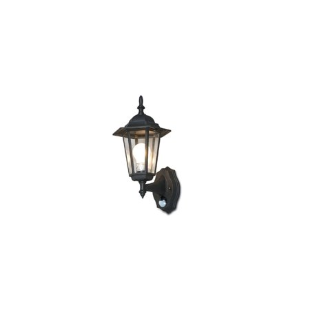 Outdoor Wall Lantern System With Infrared IR Motion Sensor ()