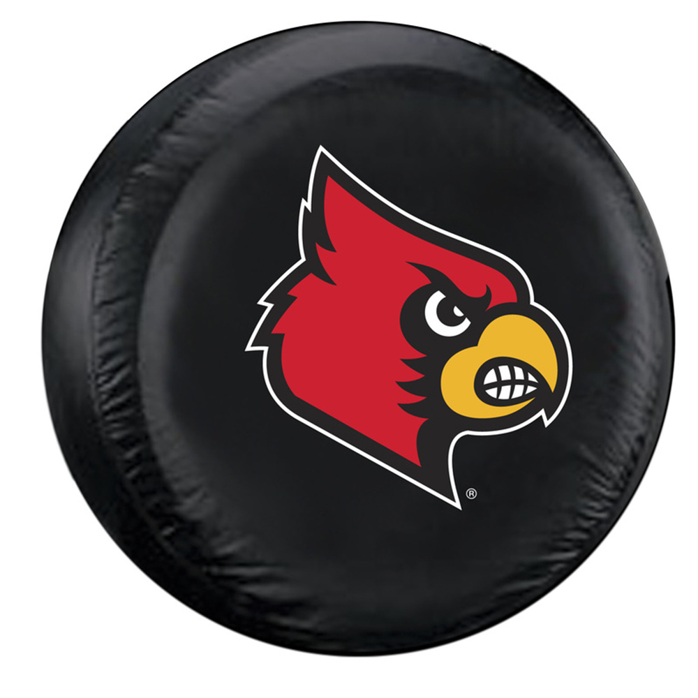 Fremont Die FMT-58332 Louisville Cardinals Ncaa Spare Tire Cover [large] [black]