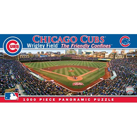 MasterPieces MLB Chicago Cubs Stadium Panoramic Jigsaw Puzzle, 1000-Piece - image 2 of 2