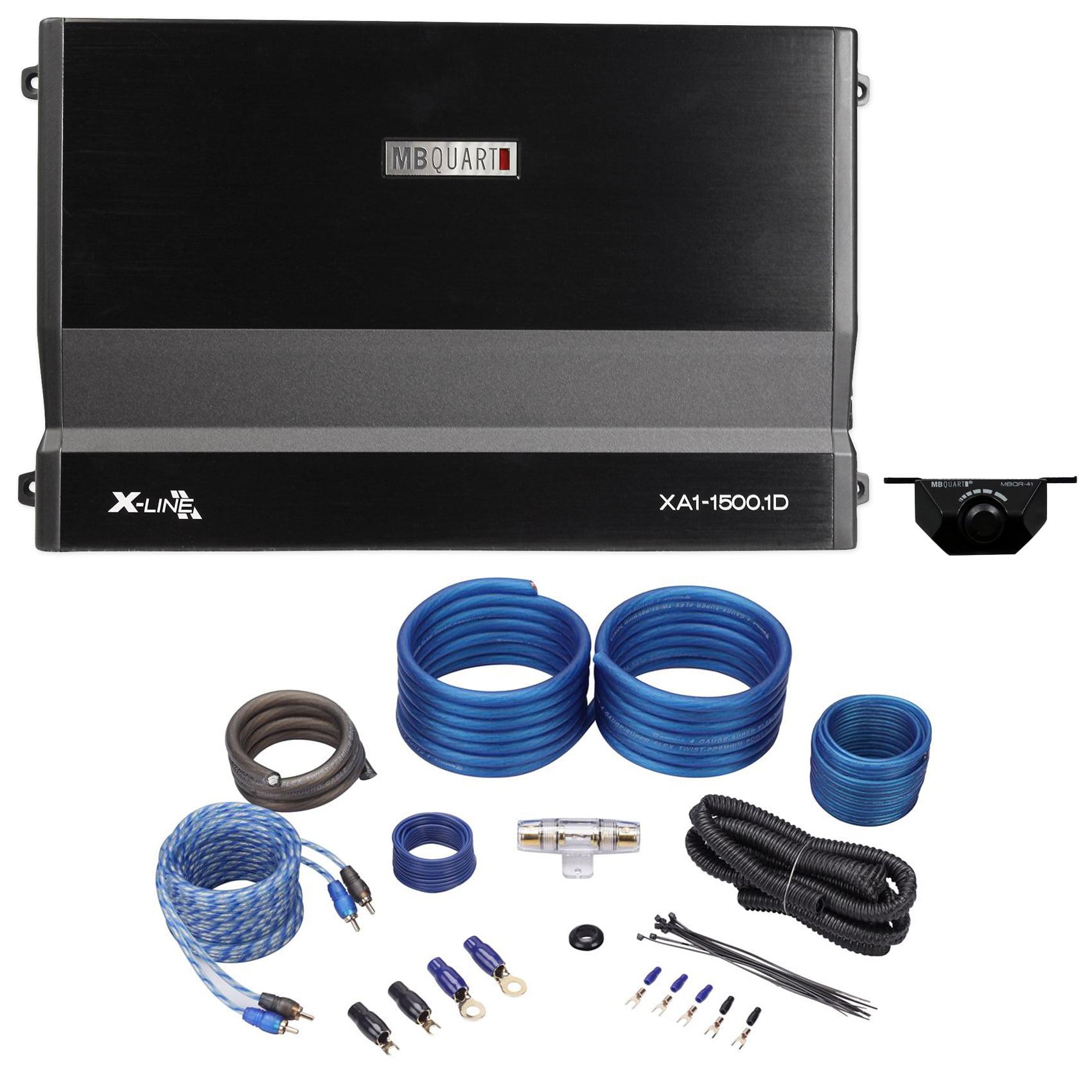 Mb Quart Xa1 15001d 1500w Rms X Line Series Mono Class D Car Premium Amplifiers Digital Audio System Amplifier Amp Kit