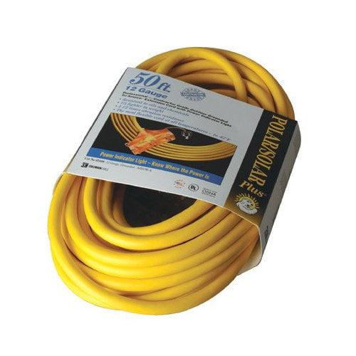 Coleman Cable Coleman Cable - Tri-Source Polar/Solar Plus Multiple Outlet Cords 3-Way 2' Tri-Source Allweather Cord Lighte: 172-03482 - 3-way 2' tri-source allweather cord lighte