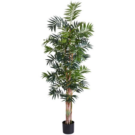 Nearly Natural Bamboo Palm Silk Tree, 6 ft. ()