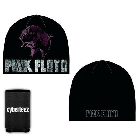 Pink Floyd Animals Pig Logo Beanie Knit Hat Cap + Coolie